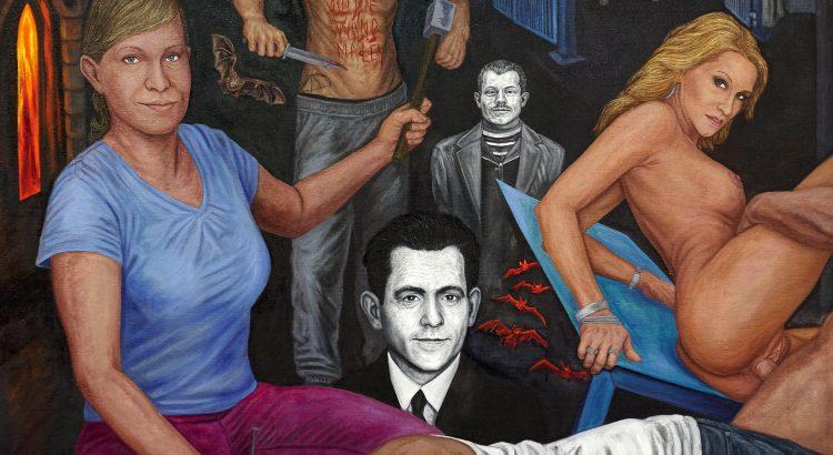 Den Teufel an die Wand malen - Teil 3 - Öl - Leinwand 200x150cm