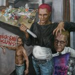 Fuck Art Dada siegt - Teil 2 - Öl - Leinwand 200x150cm