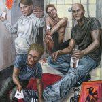 Fuck Art Dada siegt - Teil 3 - Öl - Leinwand 200x150cm