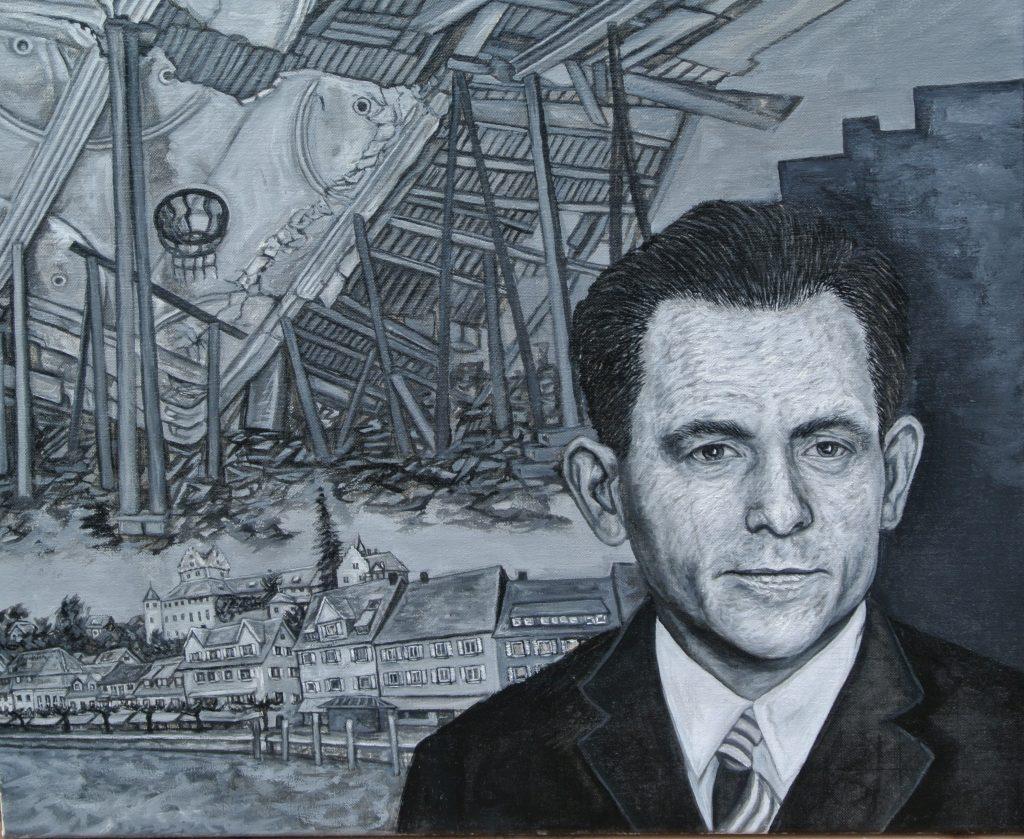 Georg Elser - Öl - Leinwand 50x60