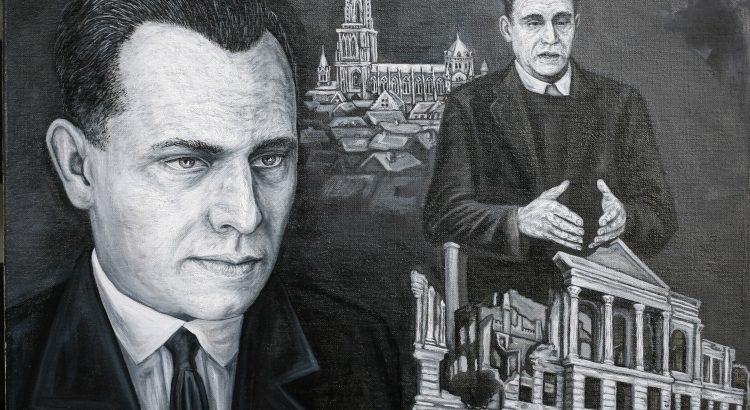 Julius Leber - Öl - Leinwand 50x60cm
